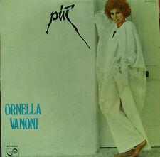 ORNELLA VANONI- PIU LP PROMOTIONAL SPAIN 1977 GOOD CONDITION