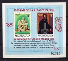 Nicaragua Bl. 118 postfrisch / Olympiade ..............