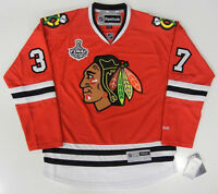 ADAM BURISH CHICAGO BLACKHAWKS 2010 STANLEY CUP REEBOK PREMIER JERSEY