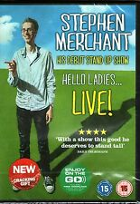 STEPHEN MERCHANT-Hello Ladies Live DVD-R4-BRAND NEW-Still Sealed