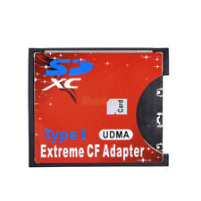 High Speed SD MMC SDHC SDXC to CompactFlash CF Type I Card Reader Adapter UDMA