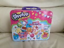 Shopkins Top Trumps Cardinal Collectors Tin Lunch Box Only