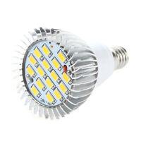 1X(E14 Ampoule Lampe Spot 5630 SMD 16 LEDs Blanc Chaud 3500K 550LM Q7R4)