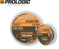 ProLogic Gladio Link Slow Sinking Carp Line 15m 20-40lbs Camo Last Meter