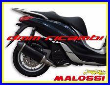 Scarico Completo MALOSSI RX BLACK PIAGGIO MEDLEY 125 150 16 marmitta 2016
