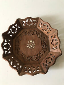 Turin Decorative Dish With Off/white Inlay.
