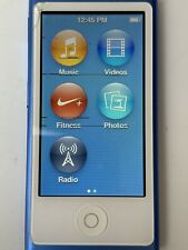 Apple iPod nano 7th Generation Blue (16GB) A1446 *FREE P&P*