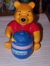 Winnie the Pooh with Honey jar salt and pepper shaker set