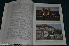 1936 INDIANA magazine article, about people places history, color photos