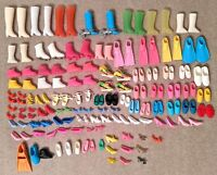 1980s 1990s Vintage Barbie Shoes Boots Heels Flippers (64 pairs! and 19 singles)
