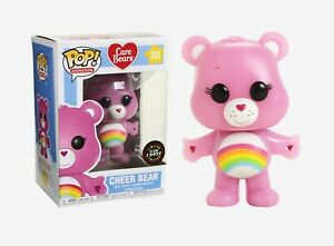 Funko - POP Animation: Care Bears - Cheer Bear #351 CHASE LIMITED EDITION New