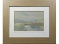 Westmoreland Rural Mountain River Landscape - Watercolour / Gouache, R McAndrew