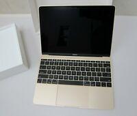 Apple Macbook 12 Notebook A1534,Intel Core M, 8GB RAM, 256GB SSD (Faulty)