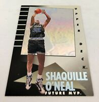 1992-93 Upper Deck MVP Holograms Shaquille O'Neal ROOKIE RC #35 NM+