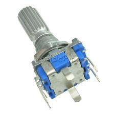2pcs EC11 Rotary Encoder Audio Digital Potentiometer with Switch Handle 20mm