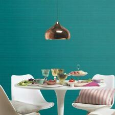 Linen Effect Wallpaper Rasch Blue Teal Pink Material Stripe Square