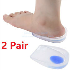 2X Pair Foot Heel Support Spur Insoles Pad Pain Relief Cushion for Women & Men