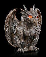 Teelichthalter - Fantasy Drache - Gothic Drachenwächter Kerzenhalter Tischdeko
