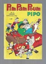 PIM PAM POUM PIPO N°13 . LUG . 1962 .
