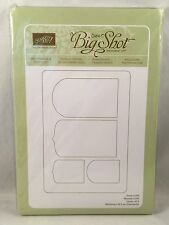 PARTY PENNANTS die Stampin Up New Sizzix Big Shot Banner Birthday
