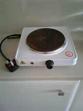 1500W Portable Single Electric Hot Plate Hob Kitchen Cooker Table Top Hotplate