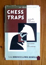 (Chess Books)  Chess Traps Pitfalls and Swindles by I.Horowitz & F.Reinfeld