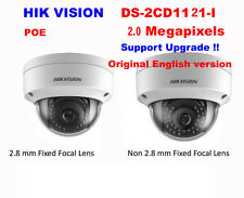 [4mm] Hikvision English DS-2CD1121-I 2MP HD 1080P POE IP67 WDR IP Dome Camera