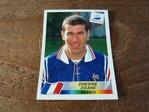 Zinedine Zidane - Panini France 98 Football Sticker - Near Mint! Number 164