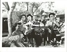 ROY ROGERS vintage photo RARE Western Cowboy w/ SONS OF PIONEERS guitar playing