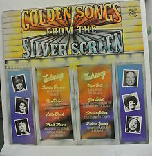 """12"""" Vinyl LP Record. Golden Songs From The Silver Screen. MFP 50453."""
