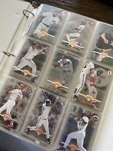 1997 Leaf baseball cards #1-200 - COMPLETE FULL SERIES 1 SET Jeter, Griffey, etc