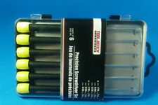 SLOT CAR Precision 6 Screwdriver Set  YOUR TOOL BOX and PIT CASE NEEDS THESE