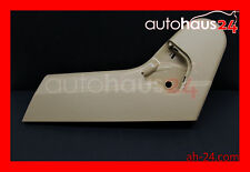 MERCEDES-BENZ W220 S-CLASS S500 S430 00-02 DRIVER SEAT LEFT SIDE TRIM COVER JAVA