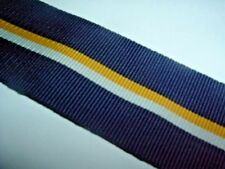 MEDAL RIBBON-GOOD OLD QUALITY SOUTH AFRICAN RIBBON FOR THE 1952 SOUTHERN CROSS