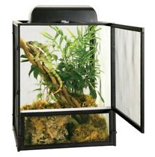 ReptiBreeze Open Air Screen Cage Reptile Lizard Chameleons Enclosure 16x16x30