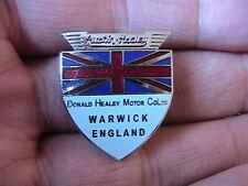 AUSTIN HEALEY PIN BADGE CLASSIC BRITISH VINTAGE CAR CLUB OWNERS SPORT WARWICK
