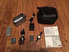 Canon ZR930 ZR930A MiniDv Mini Dv Stereo Video Camcorder VCR Player Video