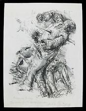 Bernhard Heisig lithographie DDR Kunst signiert Leipziger Schule Walter Womacka
