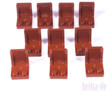 61068 neu braun 2 X 4 Lego City 4x Schräg Bogenstein