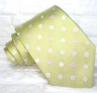 Cravatta design Made in Italy 100% seta  top quality floreale Jacquard