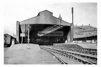 pt1349 - Railway Station , Dewsbury , Yorkshire - photograph 6x4