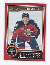 14-15 2014-15 O-PEE-CHEE TOM GILBERT RED PACK REDEMPTION 280 FLORIDA PANTHERS