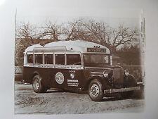 1933 S-400 PASSENGER STREAMLINED BUS 400 CI FLORIDA MOTOR LINES PRINT AD