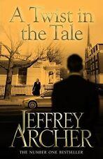 JEFFREY ARCHER __ A TWIST IN THE TALE __ SHOP SOILED __ 'B' FORMAT _ FREEPOST UK