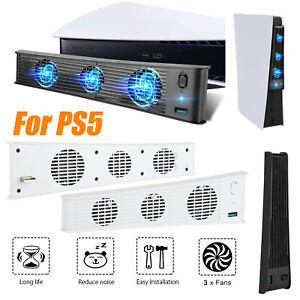 For PS5 PlayStation 5 Console Host Cooling Fan Cooler Game External Accessories