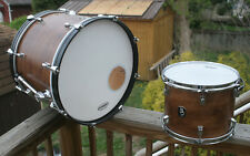 """BALTIMORE DRUM - 20"""" Cocktail Bass Drum - 13"""" Tom - (Refinished) - Made in 2000"""