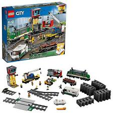 LEGO City Trains Cargo Train Set Block Building Toy 60198  EMS w/ Tracking