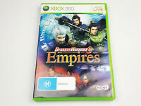 Mint Disc Xbox 360 Dynasty Warriors 6 Empires Free Postage