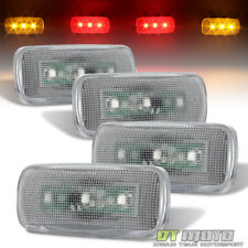 2010-2017 Dodge Ram Pickup Dually Cab Bed Fender LED Side Marker Lights 4Pcs
