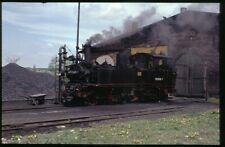 35mm slide+© DR Deutsche Reichsbahn 99 1568-7 Mügeln Germany 1991 original